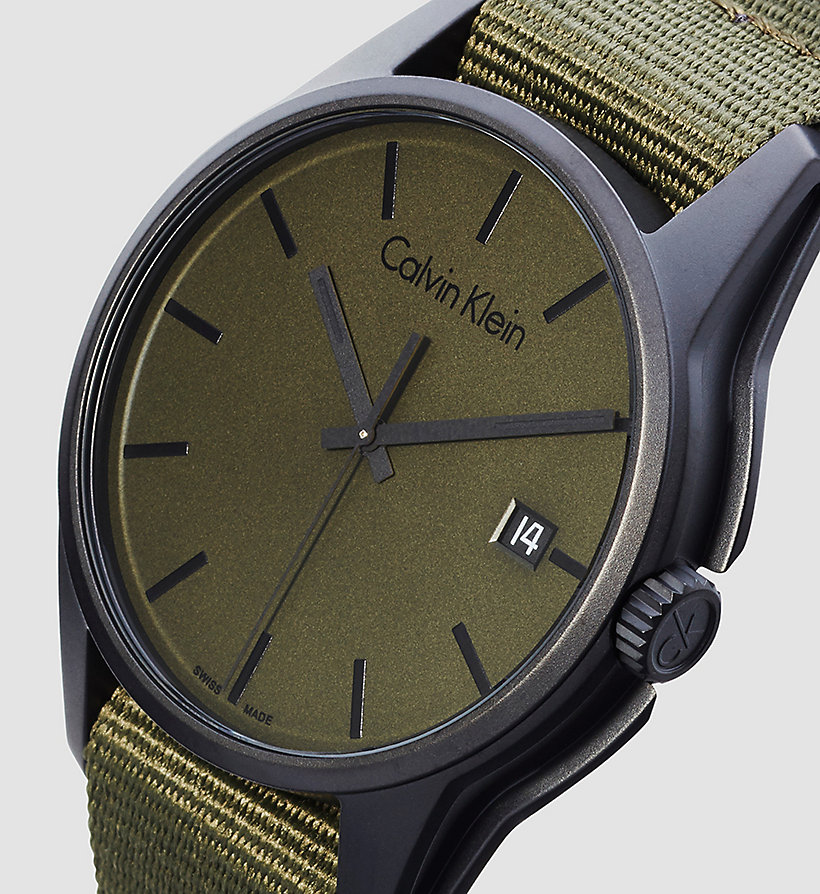 CALVINKLEIN Watch - Calvin Klein Tone - GREEN - CALVIN KLEIN SHOES & ACCESSORIES - detail image 2