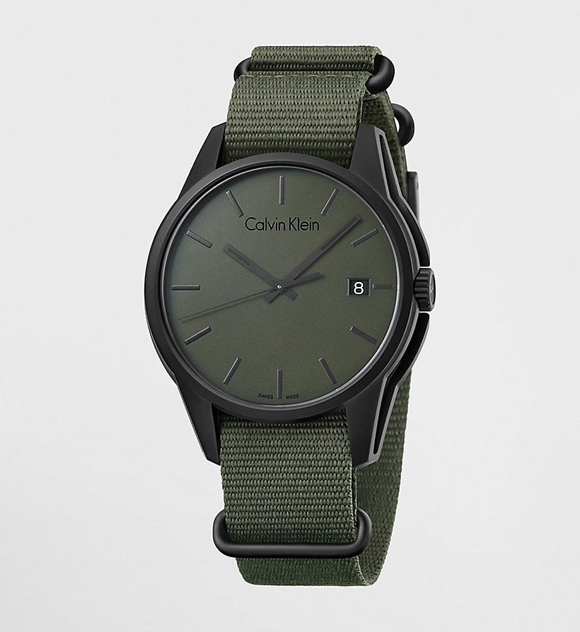 CALVINKLEIN Watch - Calvin Klein Tone - GREEN - CALVIN KLEIN SHOES & ACCESSORIES - main image