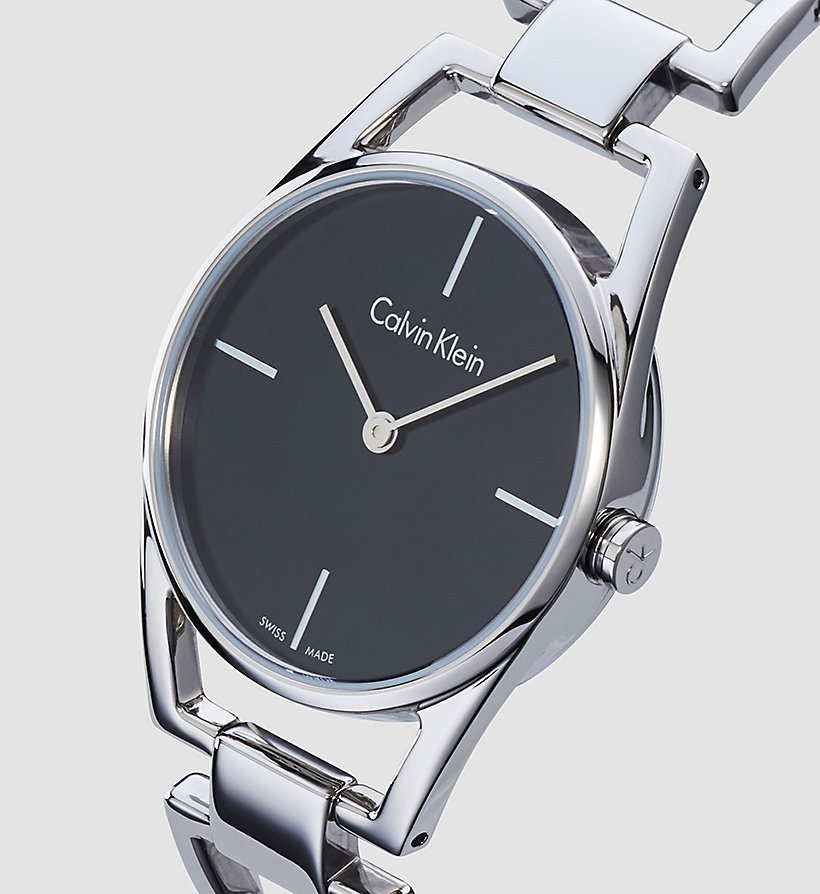 CALVINKLEIN Watch - Calvin Klein Dainty - SST / BLACK - CALVIN KLEIN SHOES & ACCESSORIES - detail image 2