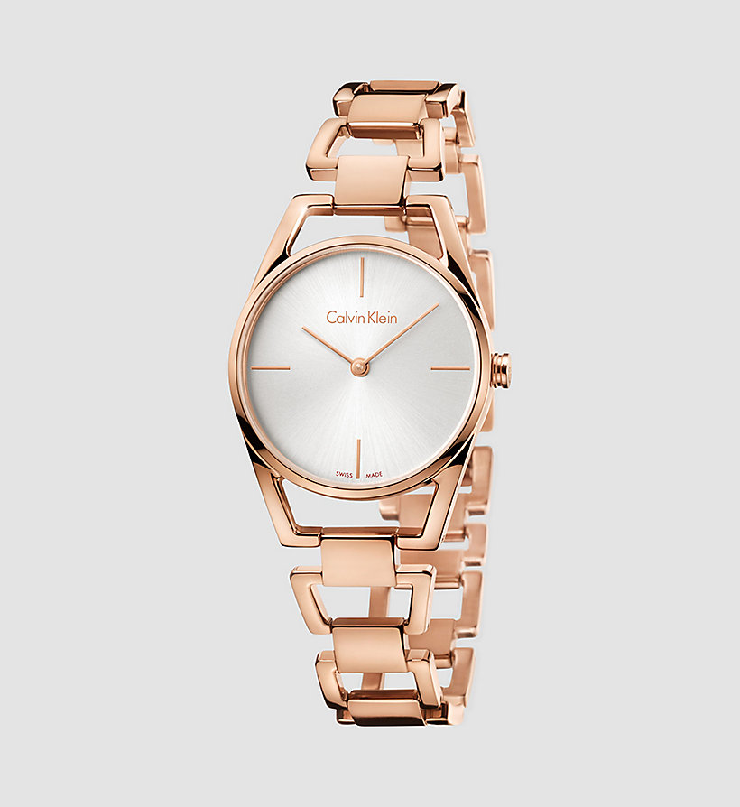 CALVINKLEIN Watch - Calvin Klein Dainty - PINK GOLD  /   SILVER - CALVIN KLEIN SHOES & ACCESSORIES - main image