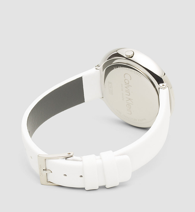 CALVINKLEIN Watch - Calvin Klein Chic - SST / WHITE - CALVIN KLEIN SHOES & ACCESSORIES - detail image 1