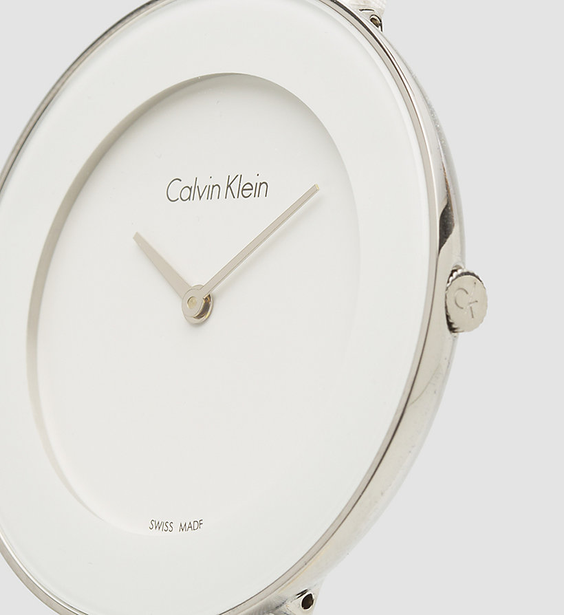 CALVINKLEIN Watch - Calvin Klein Chic - SST / WHITE - CALVIN KLEIN SHOES & ACCESSORIES - detail image 2