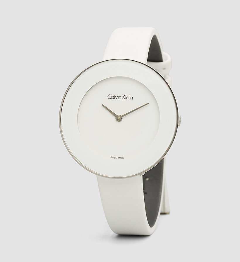CALVINKLEIN Watch - Calvin Klein Chic - SST / WHITE - CALVIN KLEIN SHOES & ACCESSORIES - main image