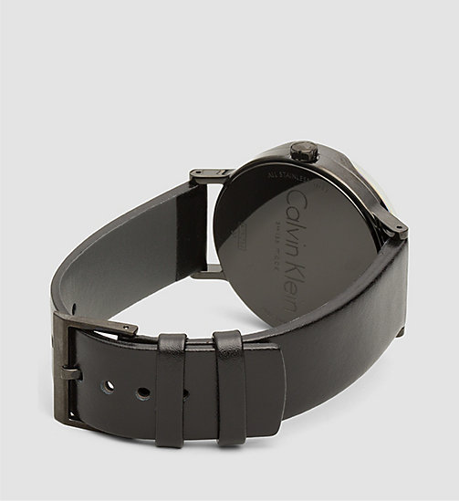 Watch - Calvin Klein Boost - SST/BLACK/SILVER - CALVIN KLEIN SHOES & ACCESSORIES - detail image 1