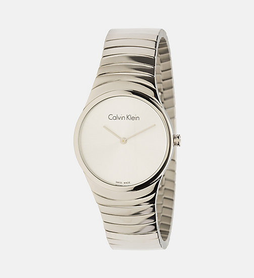 CALVINKLEIN Watch - Calvin Klein Whirl - SST /  SILVER - CALVIN KLEIN SHOES & ACCESSORIES - main image