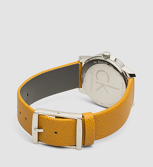 CALVINKLEIN Watch and Bracelet Gift Set - SST/ BROWN LEA / SILVER - CALVIN KLEIN SHOES & ACCESSORIES - detail image 1