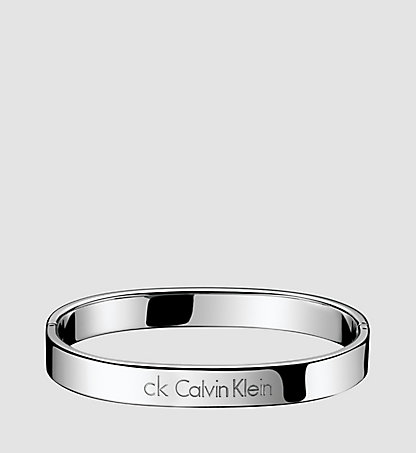 CALVIN KLEIN Closed Bangle - Calvin Klein Hook 06CB010100SIL