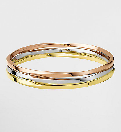 CALVIN KLEIN Round Bangle - Calvin Klein Exclusive 0KDD300100SIL