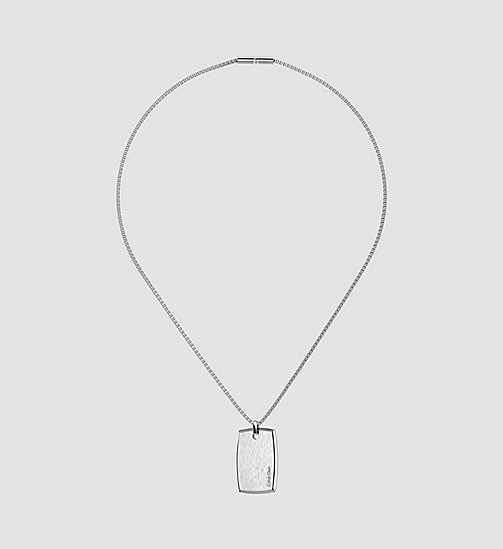 CALVINKLEIN Necklace - Calvin Klein Straight - SILVER - CALVIN KLEIN NECKLACES - main image