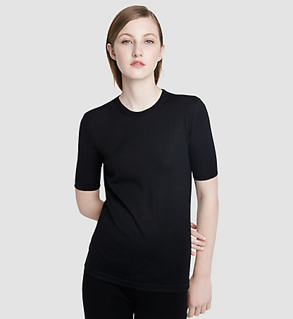 CALVIN KLEIN COLLECTION Kaschmir-T-Shirt 24521160CO001