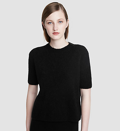 CALVIN KLEIN COLLECTION Kaschmir-T-Shirt 24521175CO001
