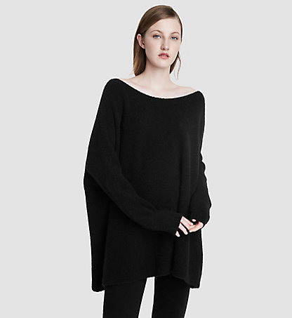 CALVIN KLEIN COLLECTION Cashmere Boat Neck Tunic 24521176CO001
