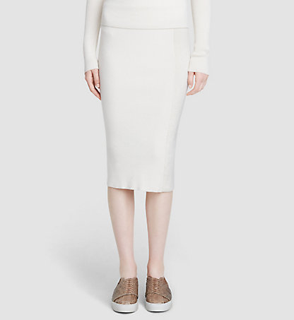 CALVIN KLEIN COLLECTION Cashmere Skirt 27521158CO128