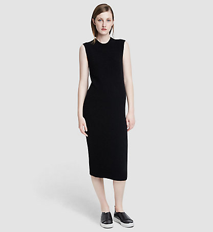 CALVIN KLEIN COLLECTION Ärmelloses Kaschmir-Kleid 28521173CO001