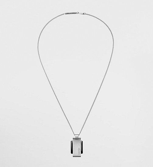CALVINKLEIN Invigorate - SILVER - CALVIN KLEIN NECKLACES - main image