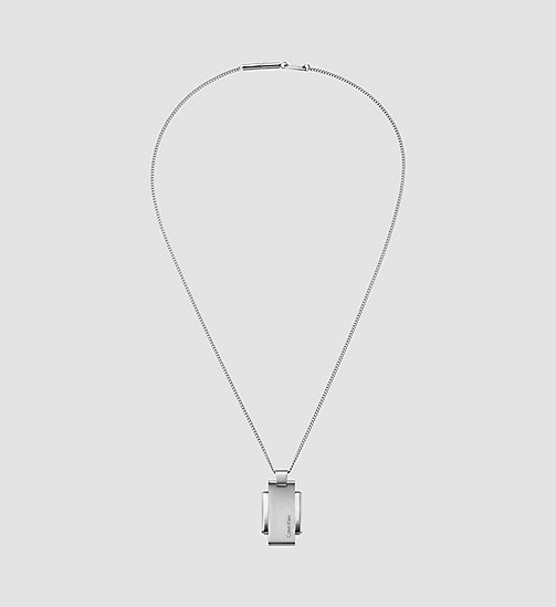 CALVINKLEIN Necklace - Calvin Klein Invigorate - SILVER - CALVIN KLEIN NECKLACES - main image
