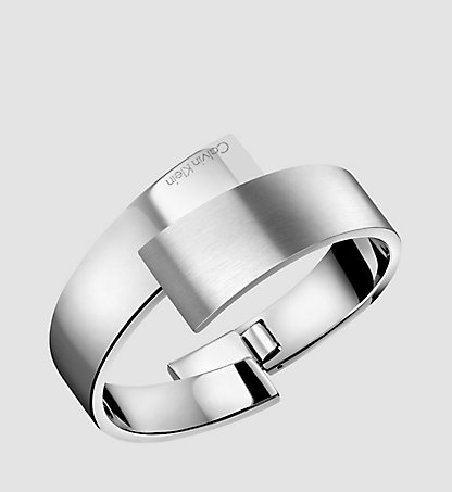 CALVIN KLEIN Closed Bangle - Calvin Klein Intense 2HMD080100SIL
