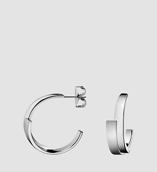 Earrings - Calvin Klein Intense - STAINLESS STEEL - CALVIN KLEIN SHOES & ACCESSORIES - main image