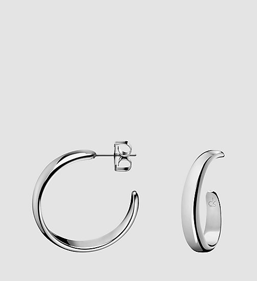 CALVINKLEIN Earrings - Calvin Klein Embrace - SILVER - CALVIN KLEIN WATCHES & JEWELLERY - main image