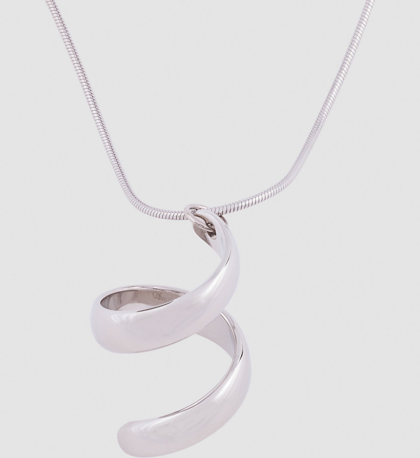 CALVINKLEIN Necklace - Calvin Klein Embrace - SILVER - CALVIN KLEIN SHOES & ACCESSORIES - detail image 1
