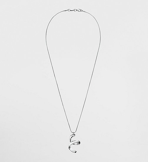 CALVINKLEIN Necklace - Calvin Klein Embrace - SILVER - CALVIN KLEIN WATCHES & JEWELLERY - main image