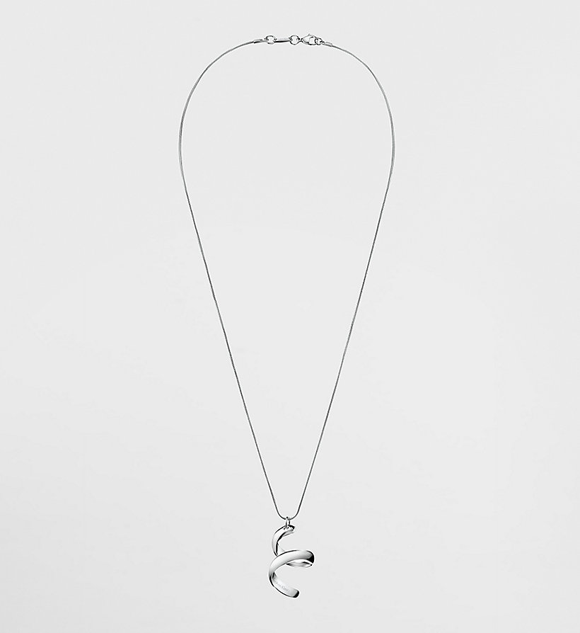 CALVINKLEIN Necklace - Calvin Klein Embrace - SILVER - CALVIN KLEIN SHOES & ACCESSORIES - main image