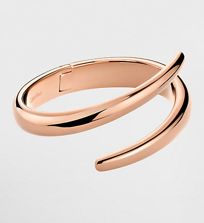 CALVIN KLEIN Closed Bangle - Calvin Klein Embrace 2KPD100100PGD
