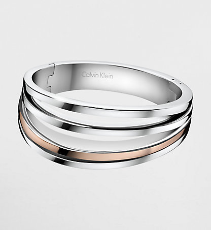 CALVIN KLEIN Closed Bangle - Calvin Klein Breathe 3DPD200100SIL