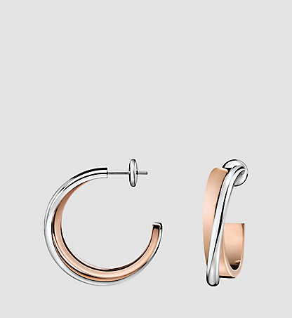 CALVIN KLEIN Earrings - Calvin Klein Coil 63BE010100SIL