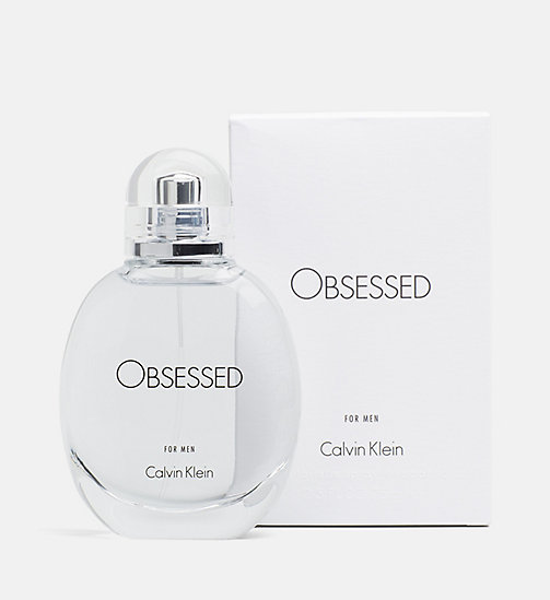 CALVINKLEIN Obsessed for Men - 75ml - Eau de Toilette - WHITE/SEE THRU - CALVIN KLEIN PERFUMES - main image