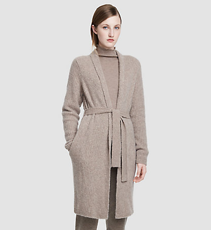 CALVIN KLEIN COLLECTION Cashmere Wrap Cardigan 74521170CO128