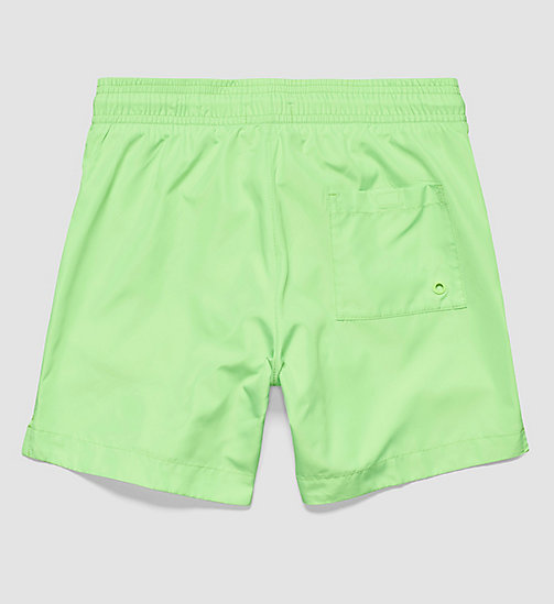CALVINKLEIN Boys Swim Shorts - Core Neon - GREEN GECKO - CALVIN KLEIN Up to 50% - detail image 1