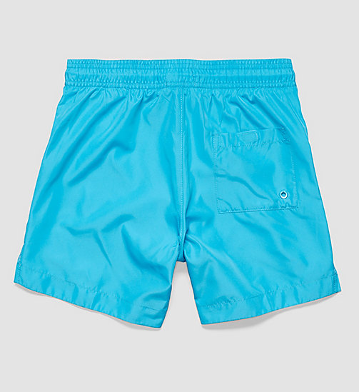 CALVINKLEIN Boys Swim Shorts - Core Neon - ATOMIC BLUE - CALVIN KLEIN UNDERWEAR - detail image 1