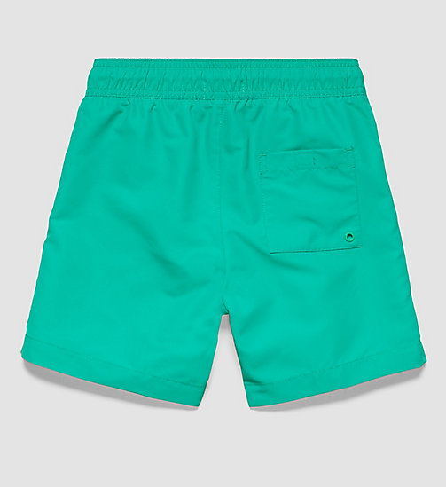 CALVINKLEIN Boys Swim Shorts - Logo Tape - SIMPLY GREEN? 17-5936 - CALVIN KLEIN UNDERWEAR - detail image 1