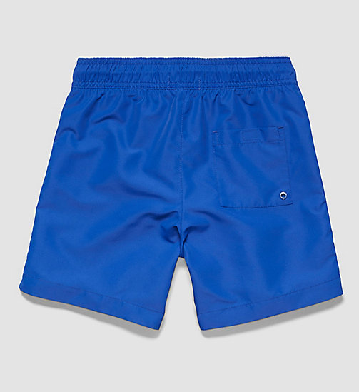CALVINKLEIN Boys Swim Shorts - Logo Tape - SURF THE WEB - CALVIN KLEIN UNDERWEAR - detail image 1