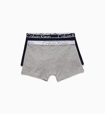 CALVIN KLEIN 2 Pack Boys Trunks - Modern Cotton B70B700019050