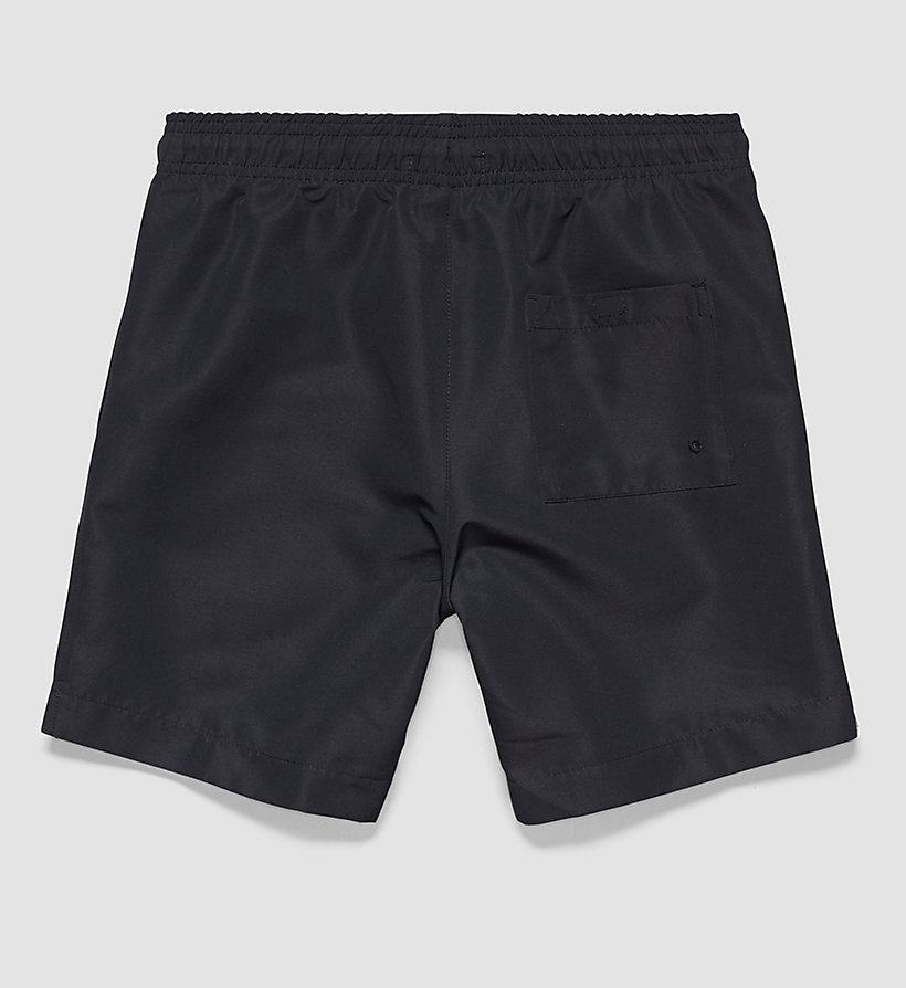CALVINKLEIN Boys Swim Shorts - Intense Power - BLACK - CALVIN KLEIN UNDERWEAR - detail image 1