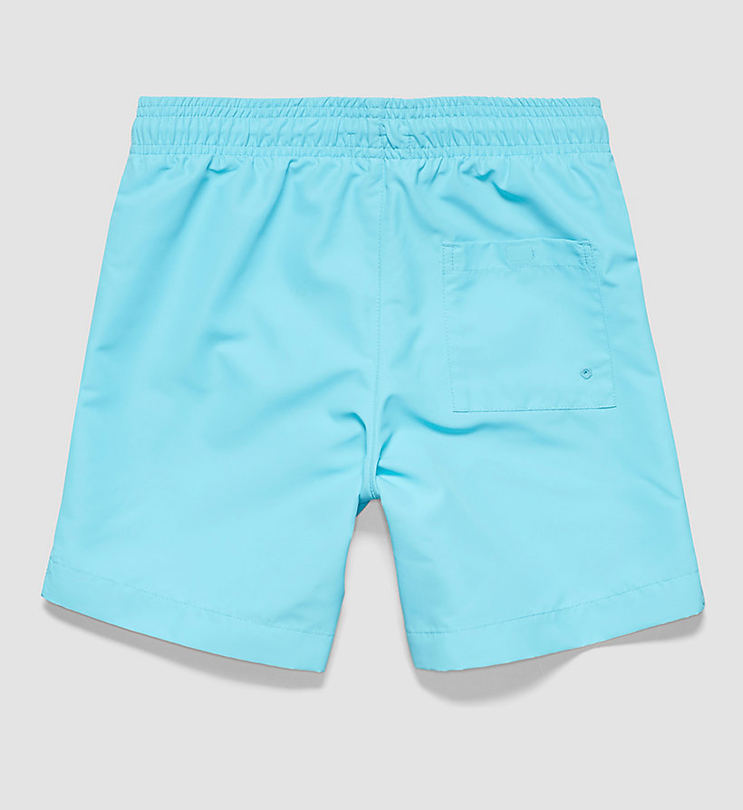 CALVINKLEIN Boys Swim Shorts - Intense Power - BLUE ATOLL - CALVIN KLEIN UNDERWEAR - detail image 1
