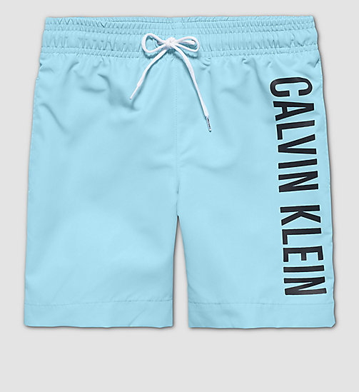 CALVINKLEIN Boys Swim Shorts - Intense Power - BLUE ATOLL - CALVIN KLEIN UNDERWEAR - main image