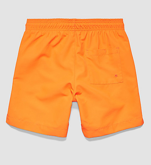 CALVINKLEIN Boys Swim Shorts - Intense Power - ORANGE POPSICLE - CALVIN KLEIN UNDERWEAR - detail image 1