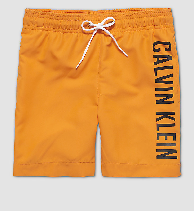 CALVINKLEIN Boys Swim Shorts - Intense Power - ORANGE POPSICLE - CALVIN KLEIN UNDERWEAR - main image