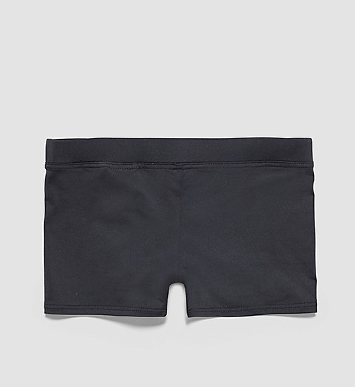 CALVINKLEIN Boys Swim Trunks - Intense Power - BLACK - CALVIN KLEIN UNDERWEAR - detail image 1