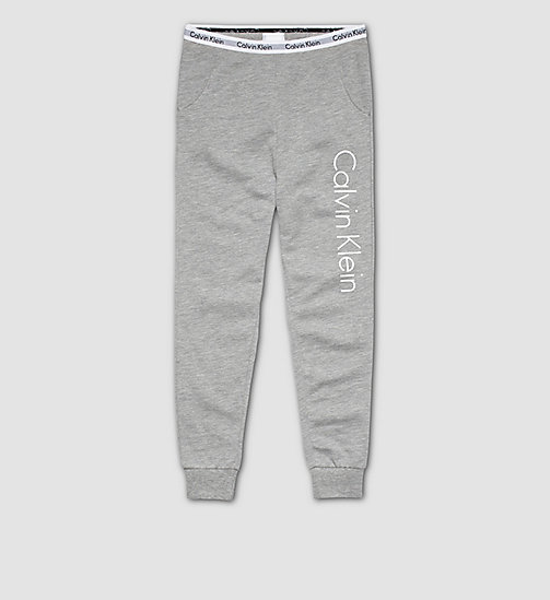 CALVINKLEIN Jungen-PJ-Set - Modern Cotton - GREY HEATHER - CALVIN KLEIN PYJAMAS - main image