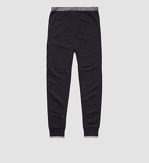 Boys Pants - Modern Cotton - BLACK - CALVIN KLEIN UNDERWEAR - detail image 1