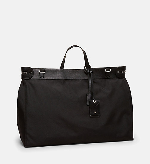 CALVINKLEIN Large Nylon Tote - BLACK - CALVIN KLEIN SHOES & ACCESSORIES - detail image 1