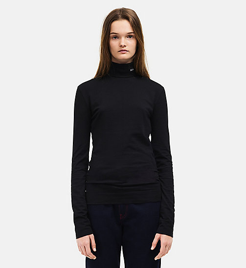 CALVINKLEIN 205 Turtleneck - BLACK - CALVIN KLEIN WOMEN - main image