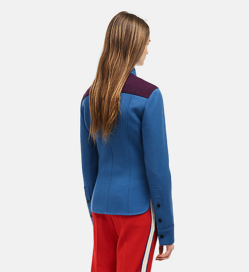 Marching Band Uniform Shirt - STEEL BLUE - CALVIN KLEIN CLOTHES - detail image 1