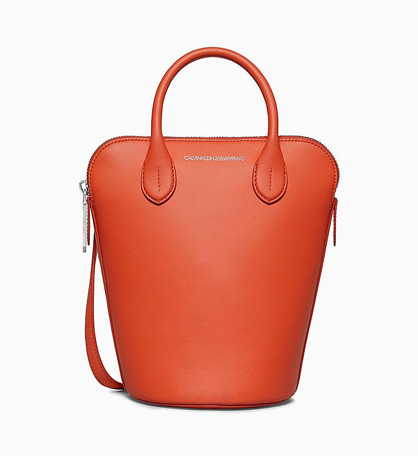 Calvin Klein - Kleine Bucket-Bag aus Nappaleder - 1
