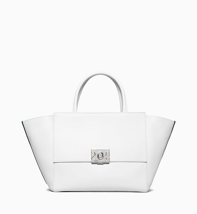 Calvin Klein - Große Shopper-Tote-Bag aus Kalbsleder - 1