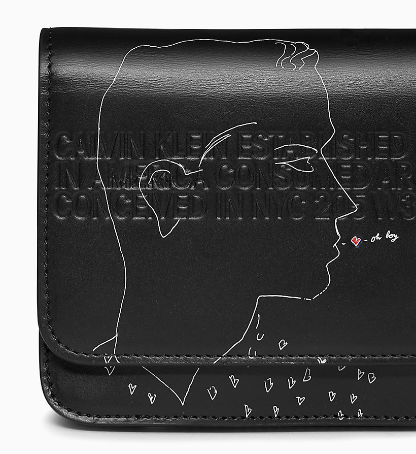 Calvin Klein - Andy Warhol Mini Leather Cross Body Bag - 3